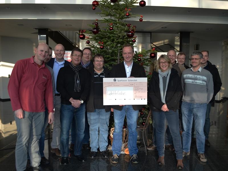 Weihnachtsfeier Gütersloh.4 000 Von Teckentrup In Den Lichtblicke Topf Radio Gütersloh