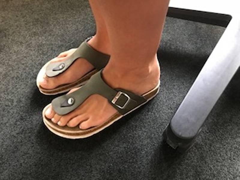 birkenstock sandalen zu groß