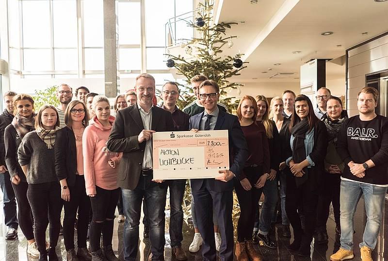 Weihnachtsfeier Gütersloh.Teckentrup Unterstützt Erneut Die Aktion Lichtblicke Radio Gütersloh